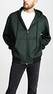 Alexander Wang Splittable Zip Up Hoodie