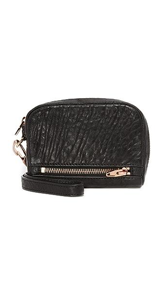 Alexander Wang Fumo Wallet Clutch In Black