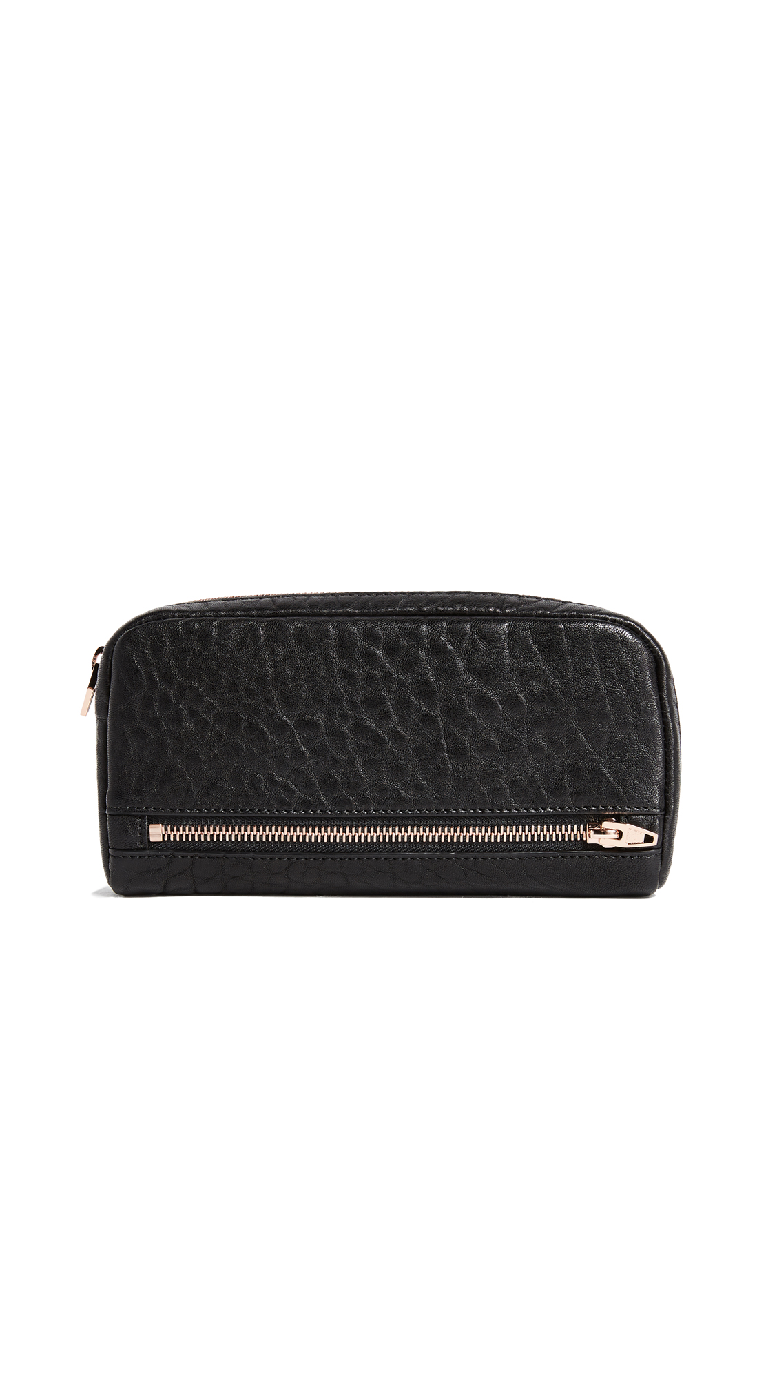 Alexander Wang Fumo Continental Wallet - Black