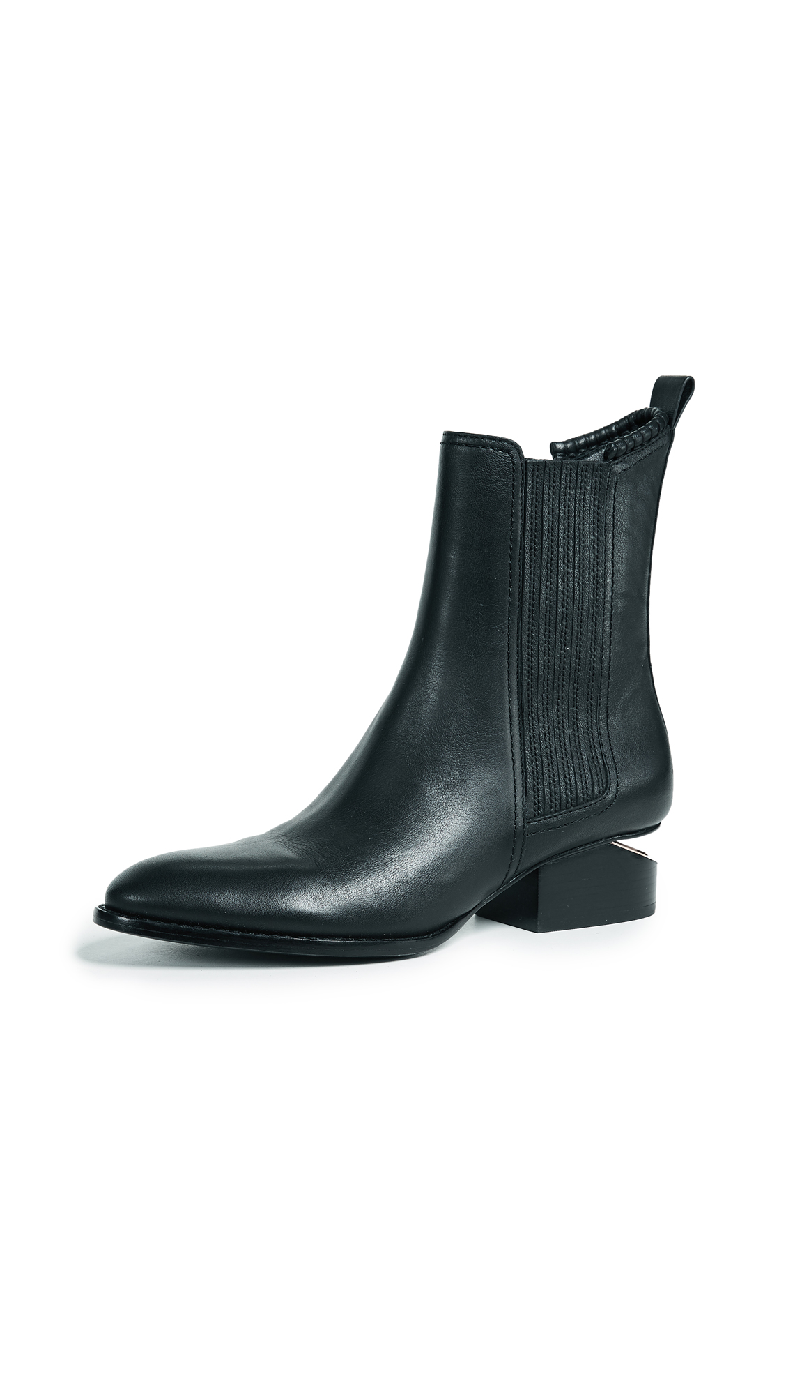 Alexander Wang Anouck Boots - Black/Rose Gold