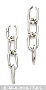 Four Link Earrings Alexander Wang