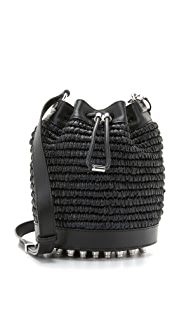 Alexander Wang Соломенная сумка-ведро