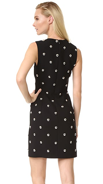 Alexander Wang Sleeveless Dress with Studs