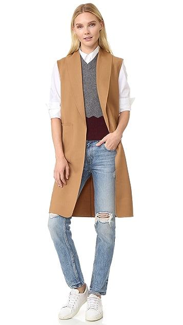 Alexander Wang Shawl Collar Vest