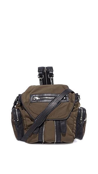 Alexander Wang Mini Marti Backpack - Military at Shopbop