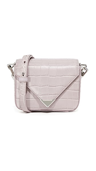 Alexander Wang Mini Prisma Envelope Cross Body Bag - Lavender