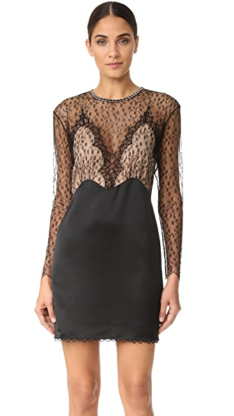Alexander Wang Long Sleeve Lace Dress