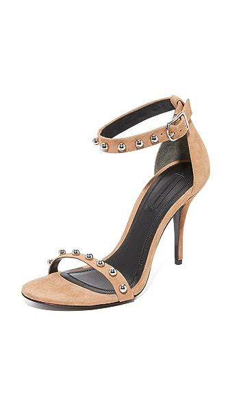 Alexander Wang Antonia Studded Sandals - Clay