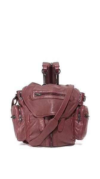 Alexander Wang Mini Marti Backpack - Beet at Shopbop
