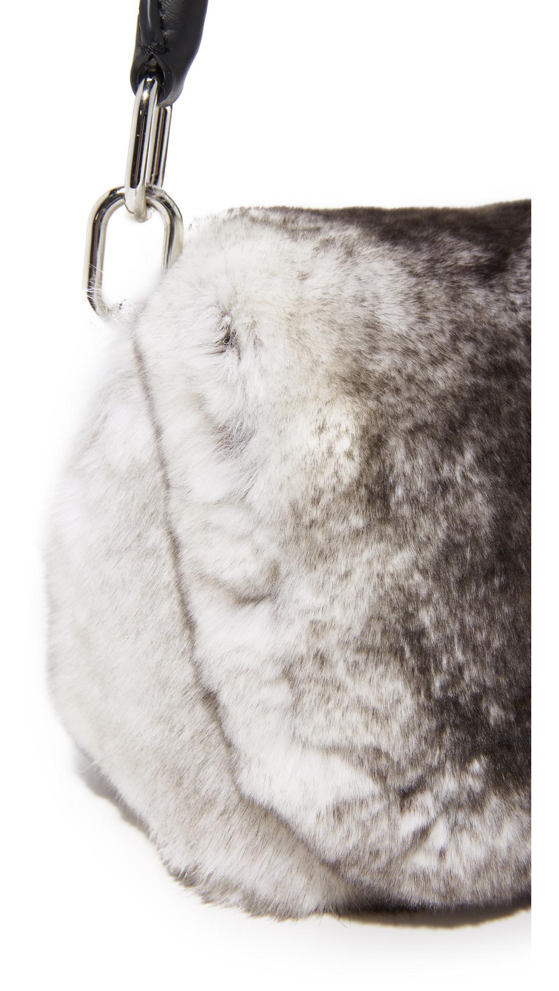 16db87682918 Alexander Wang Mini Rex Fur Shoulder Bag