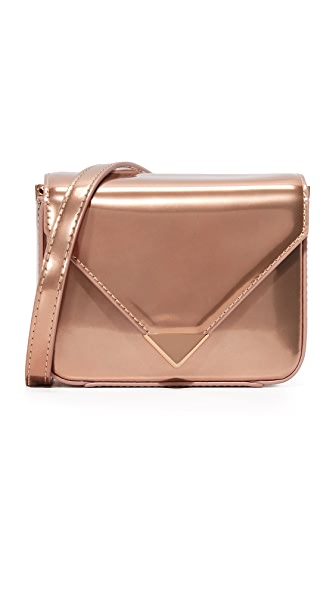 Alexander Wang Mini Envelope Cross Body Bag - Rose Gold