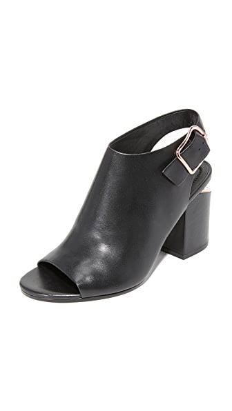 Alexander Wang Nadia Open Toe Booties
