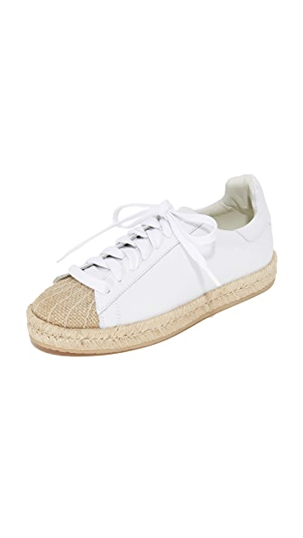 Alexander Wang Rian Espadrille Sneakers - Optic White