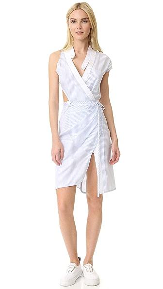 Alexander Wang Asymmetrical Deconstructed Dress