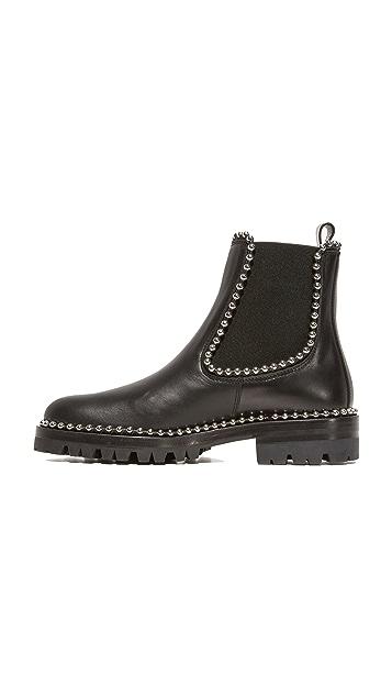 Alexander Wang Spencer Ball Chain Chelsea Boots
