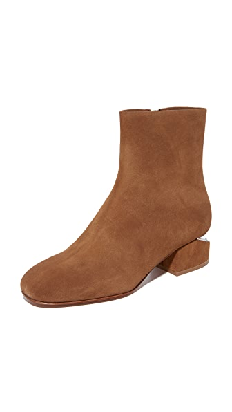 Alexander Wang Kelly Booties - Dark Truffle