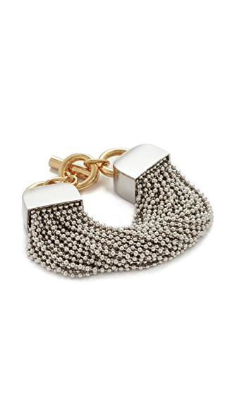 Alexander Wang Ball Chain Bracelet - Rhodium