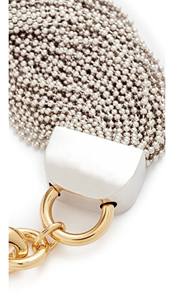 Alexander Wang Ball Chain Necklace