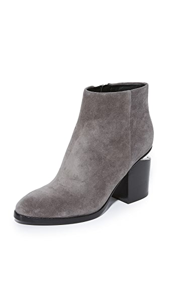 Alexander Wang Gabi Booties In Mink