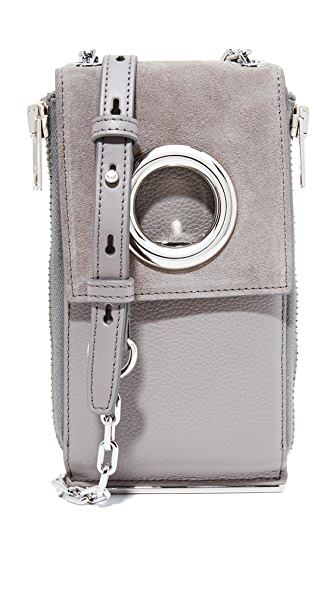 Alexander Wang Riot Shoulder Wallet - Grey