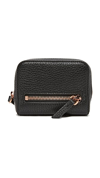 Alexander Wang Fumo Mini Wallet - Black