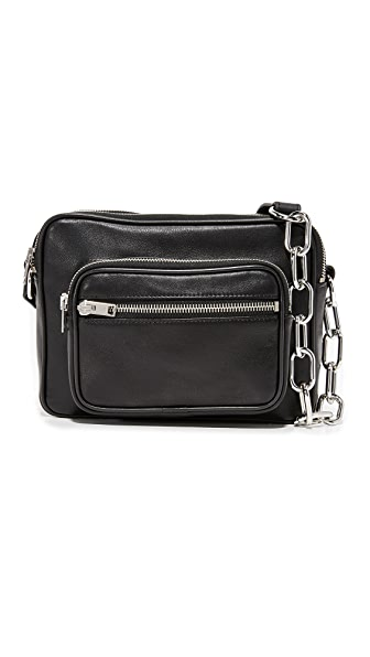 Alexander Wang Washed Camera Bag - Black