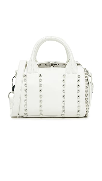 Alexander Wang Ball Stud Mini Rockie Bag - White