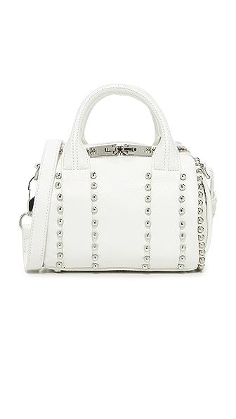 Alexander Wang Ball Stud Mini Rockie Bag In White