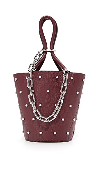 Alexander Wang Roxi Mini Bucket Bag - Beet