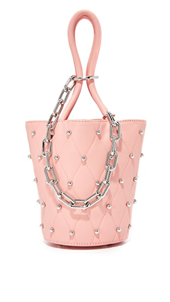 Alexander Wang Roxy Mini Bucket Bag - Blush