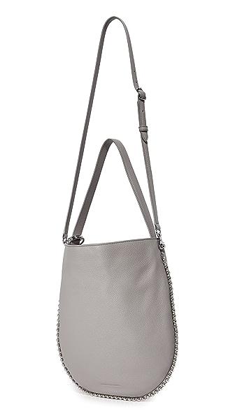 ALEXANDER WANG Roxy Hobo Bag, Gray | ModeSens