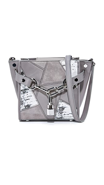 Alexander Wang Attica Chain Cross Body Bag - Grey Multi
