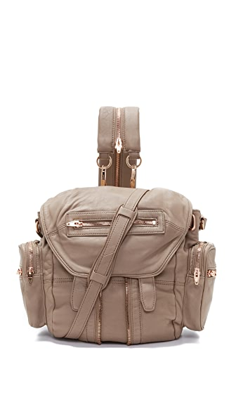 Alexander Wang Mini Marti Backpack - Latte