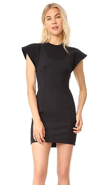 Alexander Wang Tailored Mini Dress - Black
