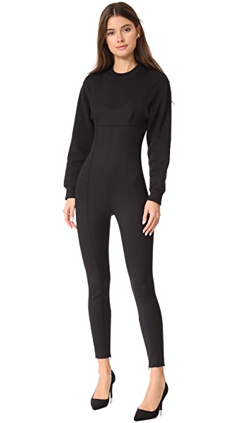 Alexander Wang Scoop Jumpsuit - Black