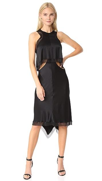 Alexander Wang Bias Cut Slip Dress
