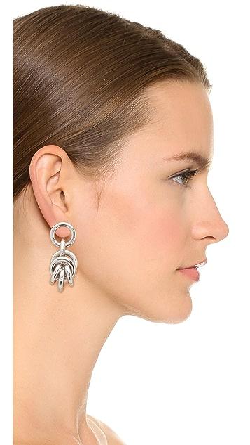 Alexander Wang Small Knot Earrings