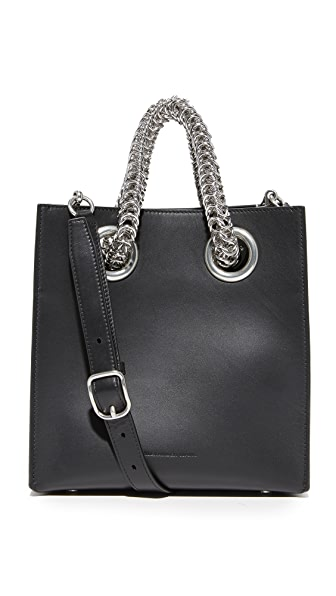 Alexander Wang Genesis Square Shopper Bag - Black