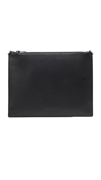 Alexander Wang Genesis Pouch with Box Chain In Black