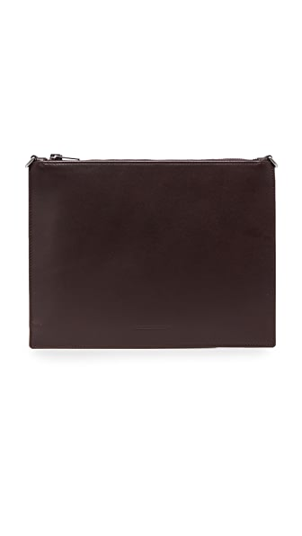 Alexander Wang Genesis Pouch with Box Chain - Cordovan