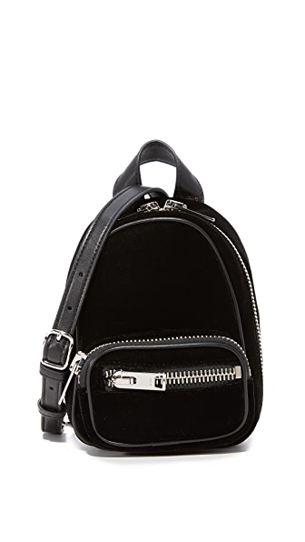 Alexander Wang Attica Soft Mini Backpack In Black