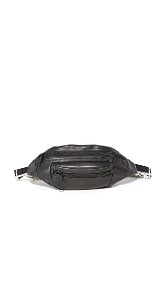 Alexander Wang Pimary Boxchain Fanny Pack - Black