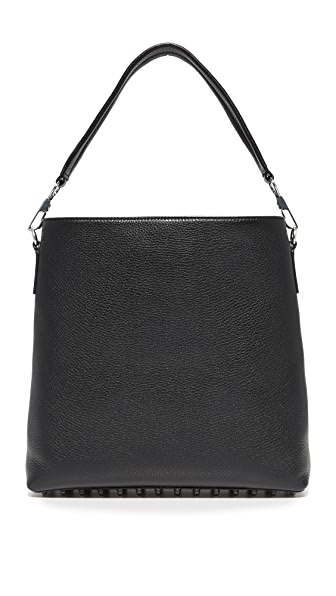 Alexander Wang Dumbo Hobo Bag In Black