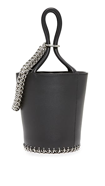 Alexander Wang Roxy Mini Bucket Bag - Black