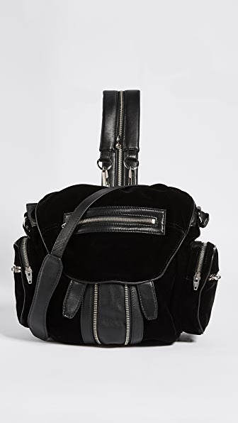 Alexander Wang Mini Marti Backpack In Black