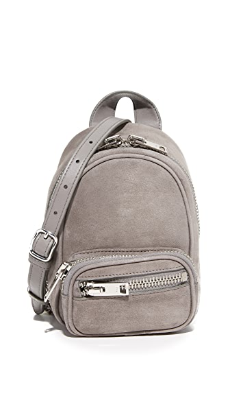 Alexander Wang Attica Soft Mini Backpack Cross Body Bag In Mink