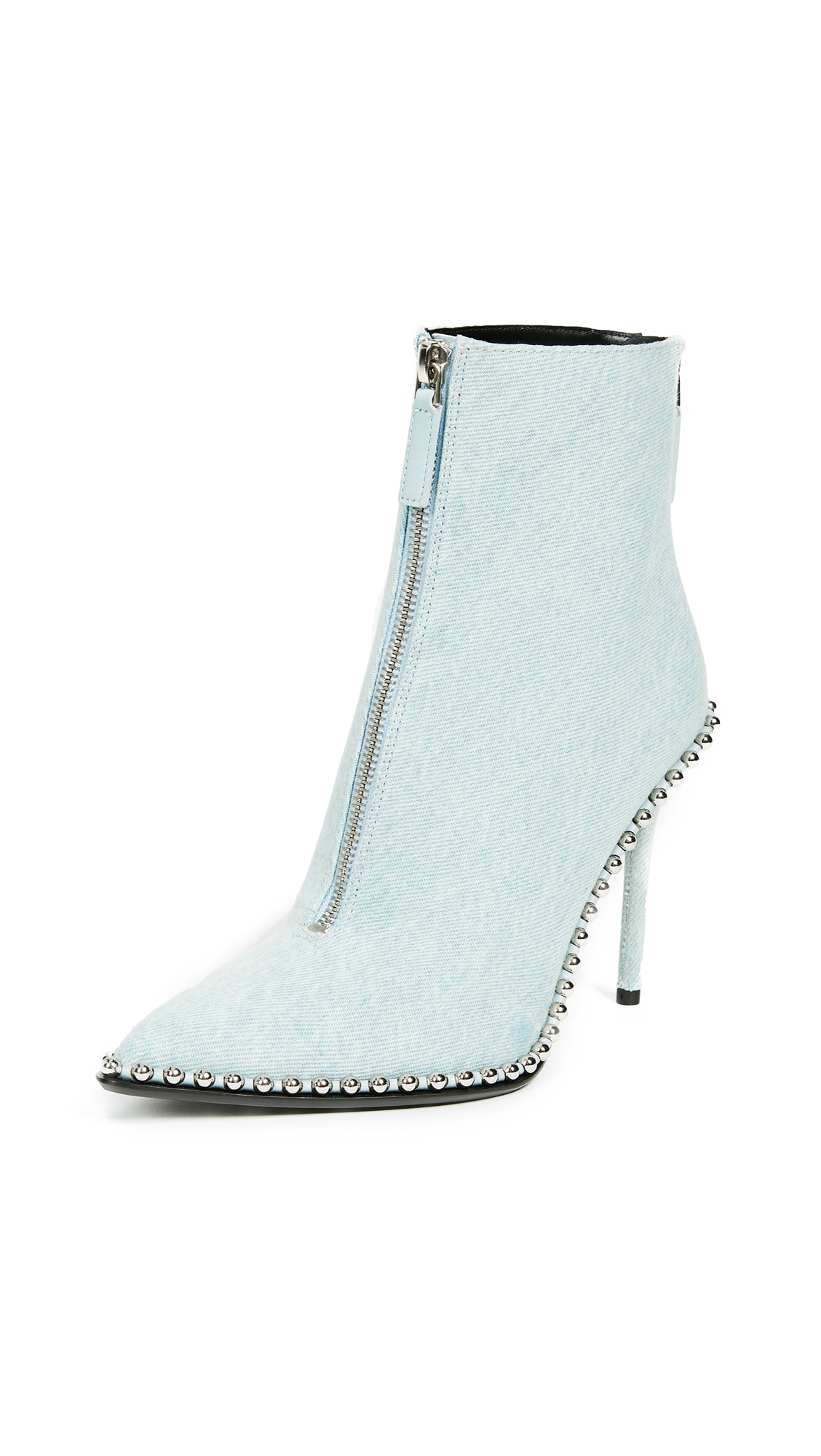 Alexander Wang Eri Booties - Blue