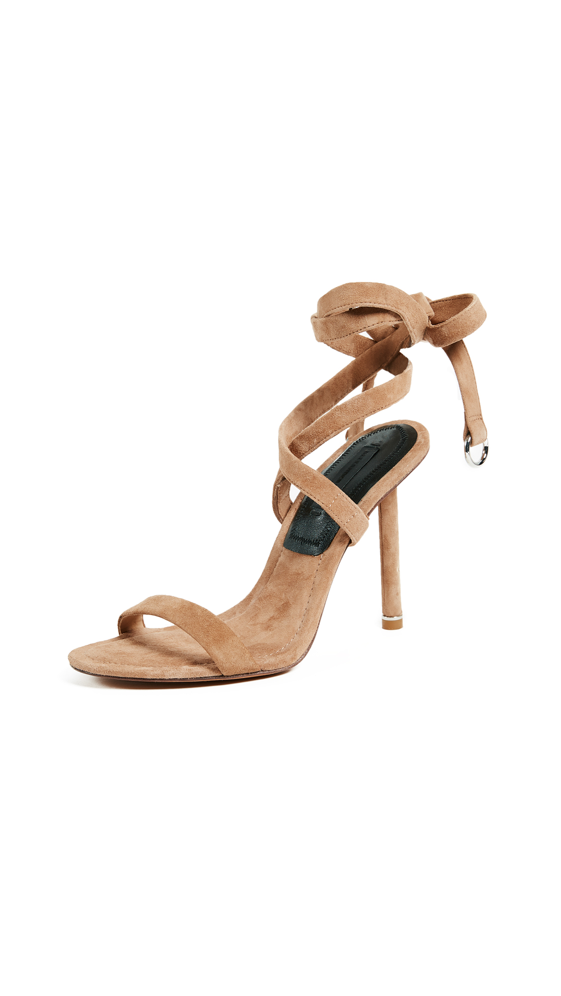 Alexander Wang Evie Wrap Sandals - Clay