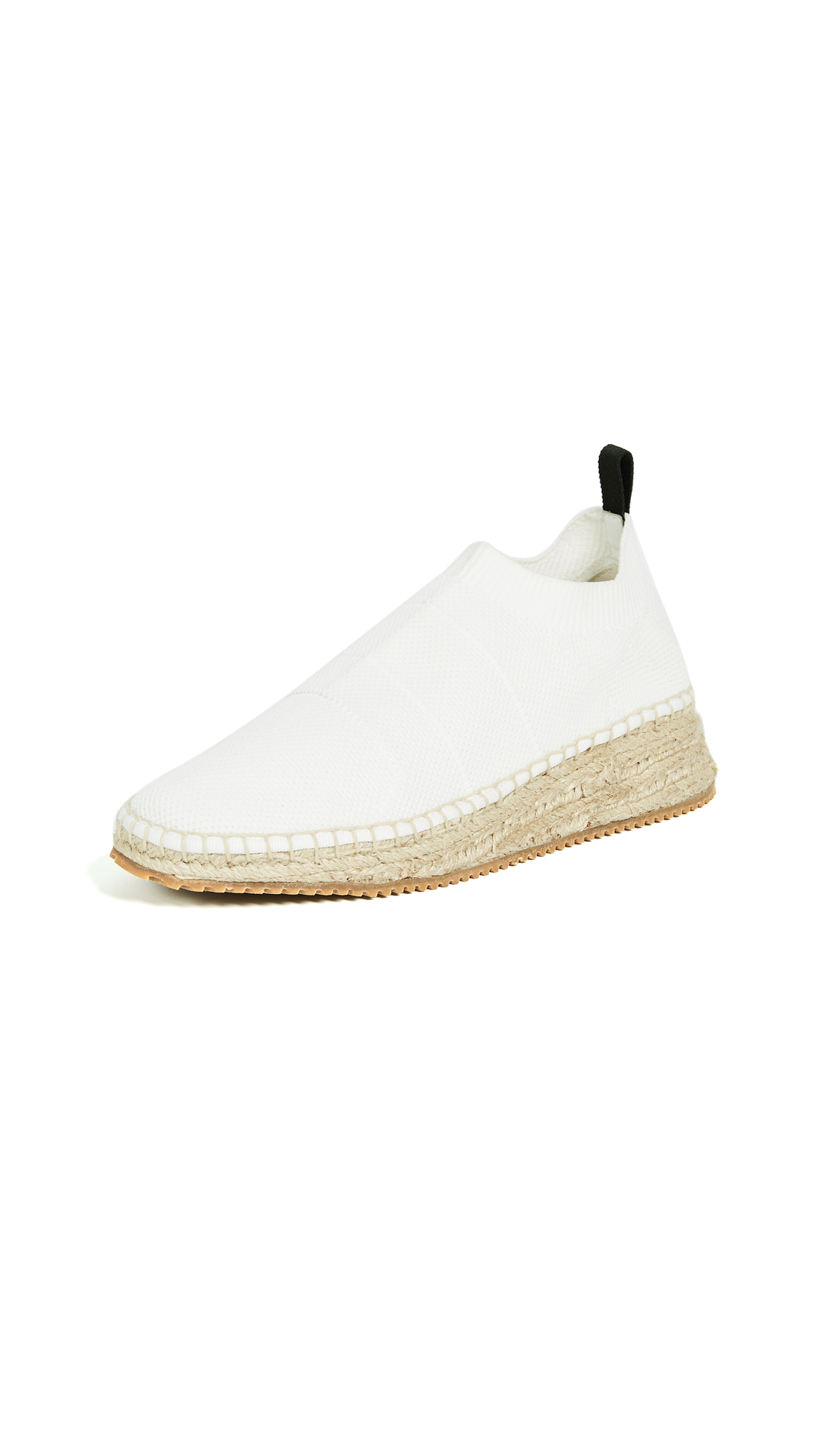 Alexander Wang Dylan Low Knit Espadrille Runners - White