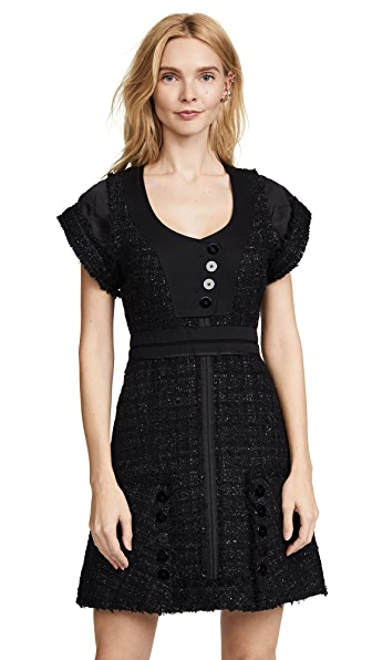 Alexander Wang Deconstructed Tweed Dress at Shopbop